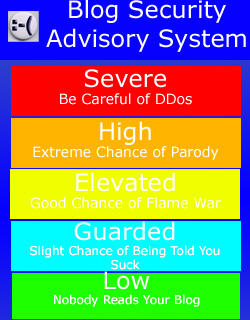 The Blog Security Advisory System